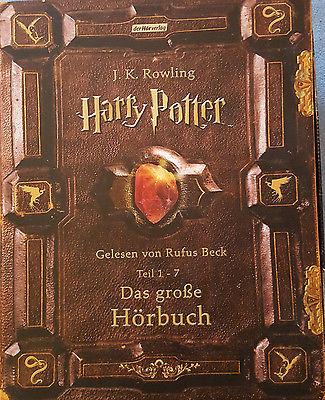 Harry Potter - Das große Hörbuch 1-7, gelesen von Rufus Beck