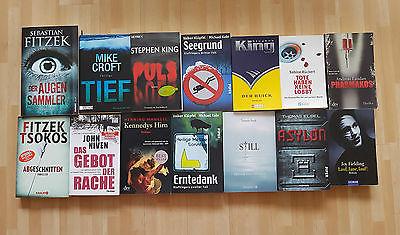 Bücherpaket #4 Krimis & Thriller