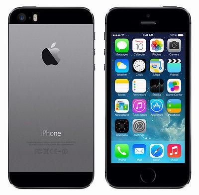 APPLE IPHONE 5S 16GB SPACEGRAU SIMLOCKFREI OHNE VERTRAG NEUWERTIG SMARTPHONE
