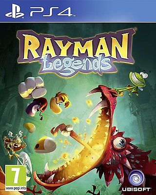 PS4 Spiel Rayman Legends Paketversand NEUWARE