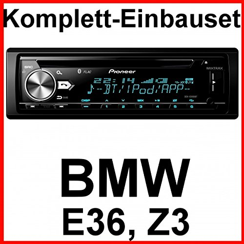 Komplett-Set BMW 3er E36 Z3 Pioneer DEH-X5900BT USB CD Autoradio Bluetooth WMA