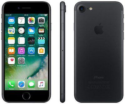 Apple iPhone 7  32 GB Smartphone ohne Vertrag/SIMlock,  schwarz (Handy)