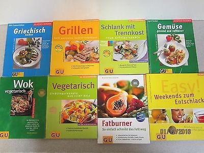 148 Bücher GU Ratgeber Essen und Trinken Verlag Gräfe und Unzer