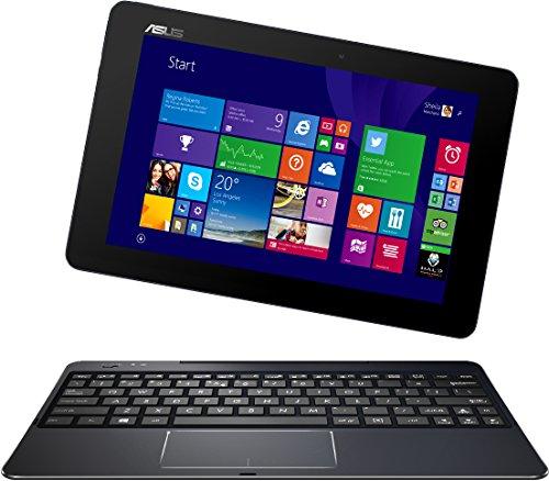 Asus T100CHI-FG001B 25,6 cm (10,1 Zoll FHD) Convertible Tablet-PC (Intel Atom Z3775, 1,4GHz, 2GB RAM, 32GB SSD, Intel HD, Win 8, Touchscreen) schwarz
