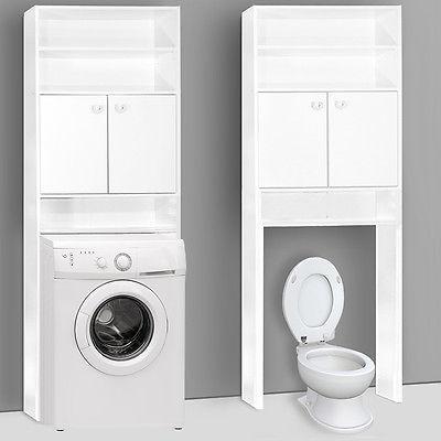 Badschrank Badezimmerschrank Badhochschrank Badregal Waschmaschinenschrank Regal