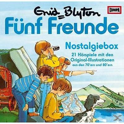 Die Fünf Freunde - Nostalgiebox - (CD)