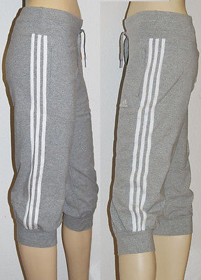 Adidas ESS 3S 3/4 Pant Baumwolle Caprihose Capri Workout Gr. 48 - 50 Neu