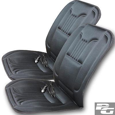 2x Sitzheizung 12V/44W mit 2 Heizstufen und Fernbedienung Sitzauflage Heizkissen