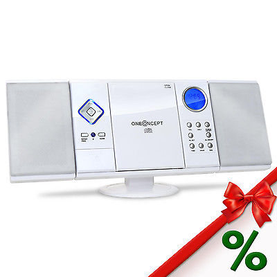 CD PLAYER SYSTEM HIFI VERTICAL USB SD MP3 FM/AM RADIO ALARM CLOCK STEREO AUDIO