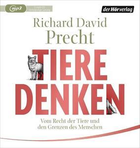 Richard David Precht - Tiere denken