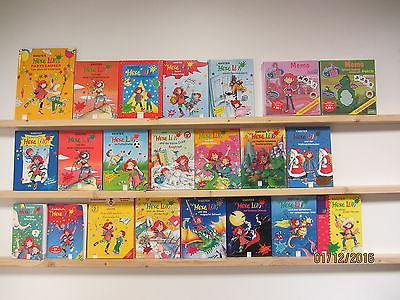 Hexe Lilli 20 Bücher Kinderbücher erstes Lesen + 2 Memo Spiele