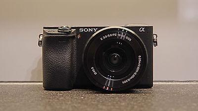 Sony Alpha ? 6300 + Zoomobjektiv 16-50 mm (neuwertig) mit 3 Jahren Vollschutz