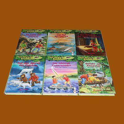 Konvolut / Sammlung  Kinderbücher Das Magische Baumhaus  6 Bücher Loewe Verlag
