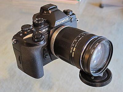 Olympus OM-D E-M1 16,3 MP Schwarz, im Kit mit 14-150 mm Objektiv, Top Zustand