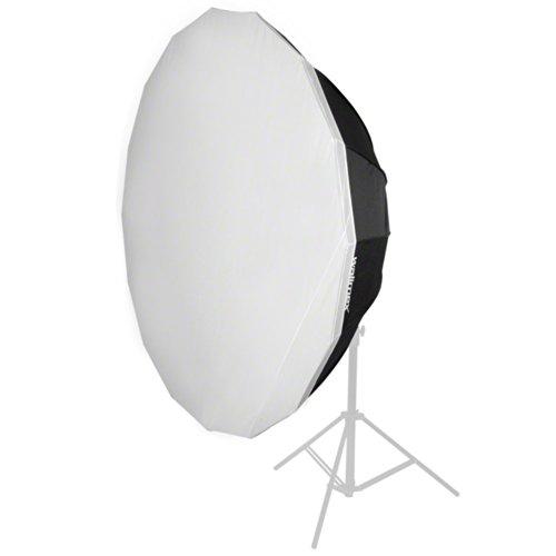 Walimex Pro 16-Winkel-Softbox (Durchmesser 120 cm, geeignet für Walimex Pro & K)