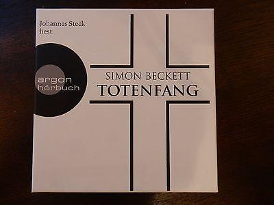 Simon Beckett Totenfang Hörbuch 12 CD