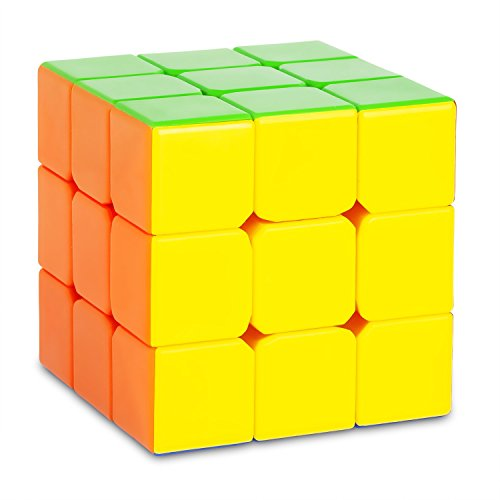 Zauberwürfel - 3x3 Speedcube GROSSGLOCKNER - 6-Colors ohne Sticker - Schneller und robuster Profi Speed-Cube 3x3 mit optimierten Dreheigenschaften für Speed-Cubing (3x3x3 Cubikon-DY Guhong V2)