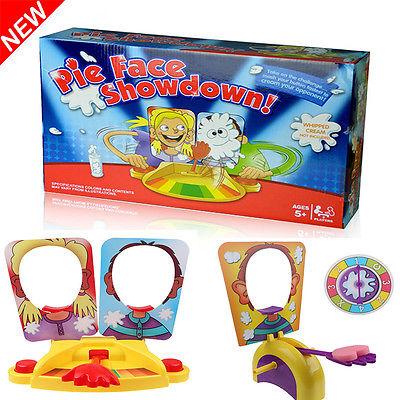 Neu Pie Face Showdown Kinder Partie Game Familienspiel Spaß Gesellschaftsspiel