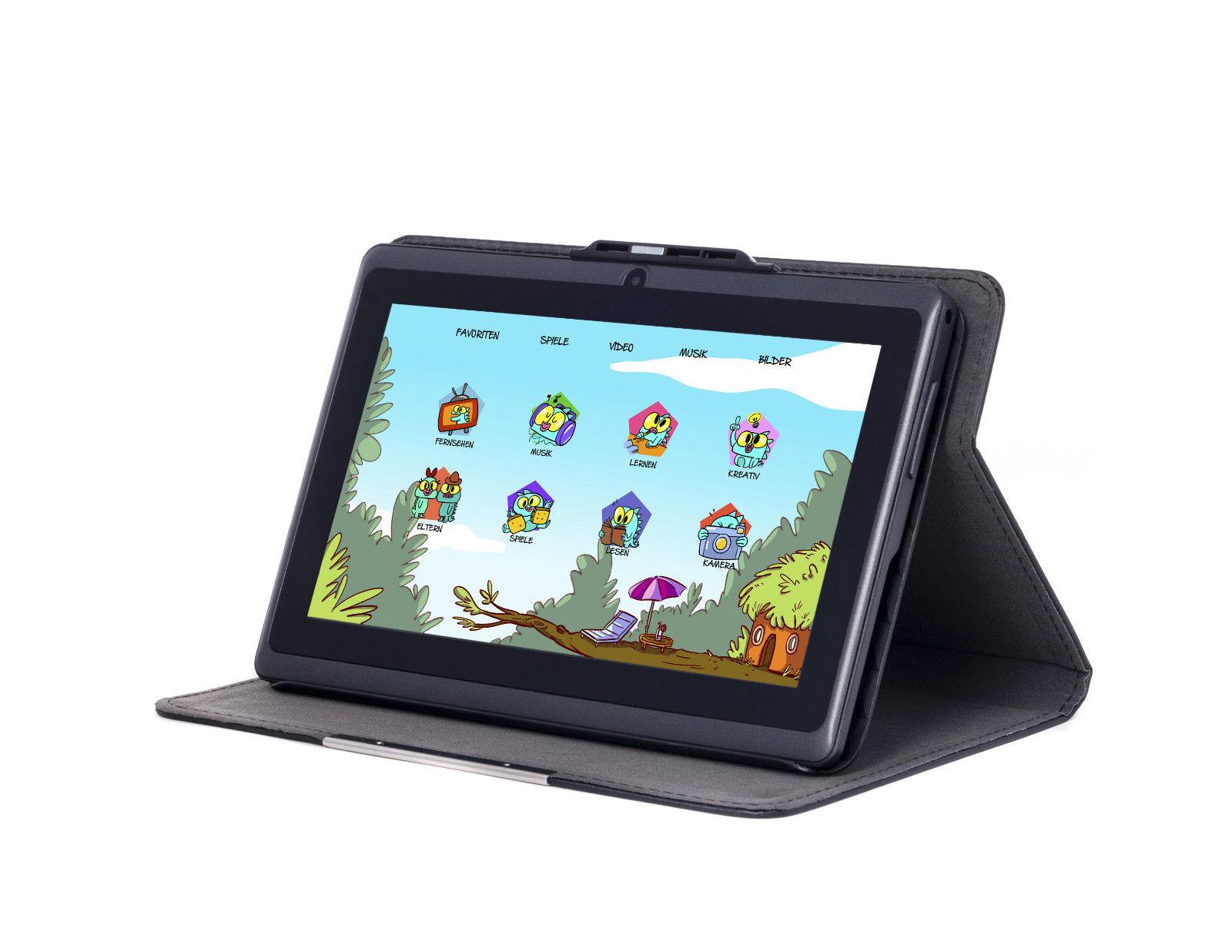 Snakebyte Kids Tablet f2 (Schwarz) - 7 Zoll Android basiertes Tablet für Kinder