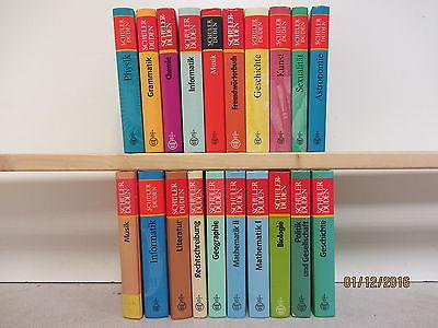 Schülerduden 20 Bände Lexikon Lexika Dudenlexikon Nachschlagewerk Duden