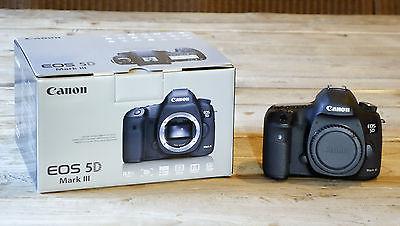 Canon EOS 5D Mark III Mk3 Gehäuse / Body topgeflegt und originalverpackt