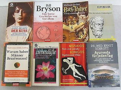 100  Bücher Taschenbücher Goldmann  Verlag
