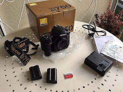 Nikon D750 Digital SLR Camera Body 24.3 MP
