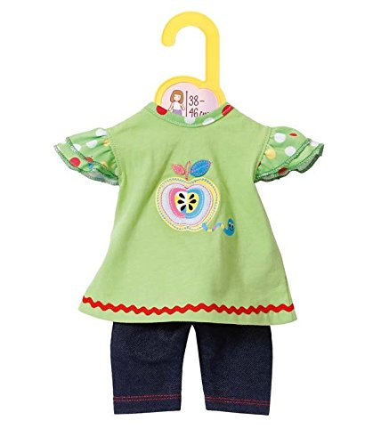 Zapf Creation 870068 - Dolly Moda Shirt mit Leggings, 38-46 cm