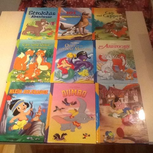 Kinderbücher Sammlung Walt Disney