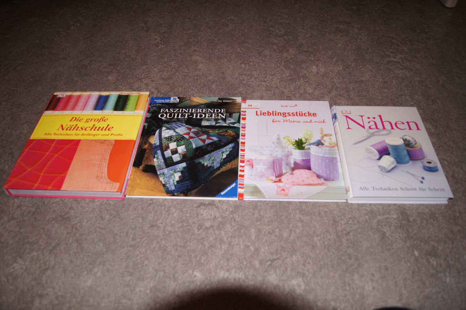 Bücherpaket Nähen Die große Nähschule Lieblingsstücke Quilt Ideen DK
