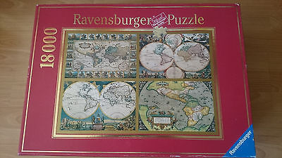 Ravensburger Puzzel 18000 Teile Historische Weltkarten