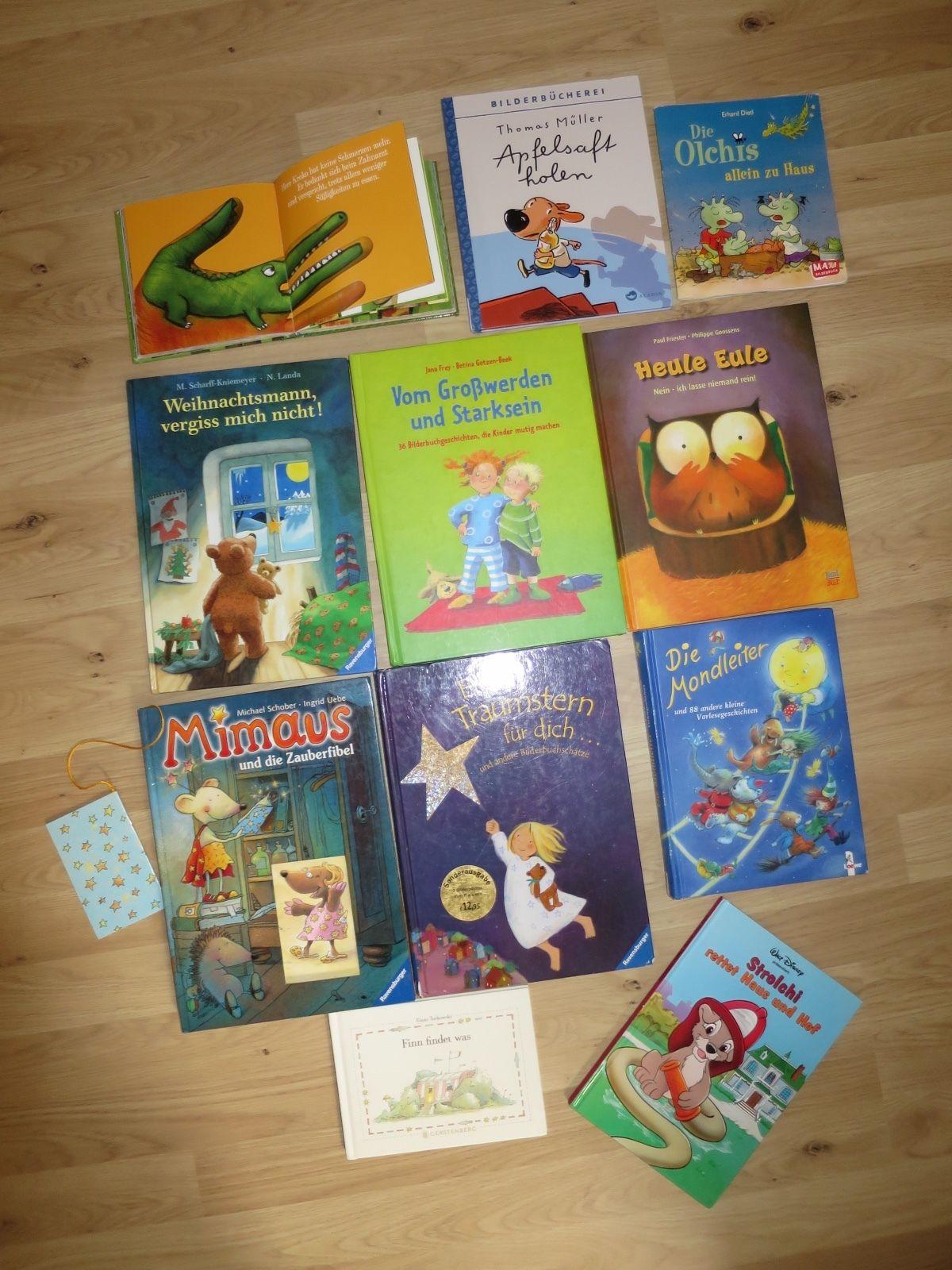 JAKO-O,Ravensburger Buchpaket für Kinder 11 Stck.Weihnachten,Loewe,Olchis