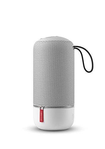 Libratone Zipp Mini Wireless SoundSpaces Lautsprecher (Multiroom, SoundSpaces, AirPlay, Bluetooth, DLNA, WiFi) Cloudy Grey