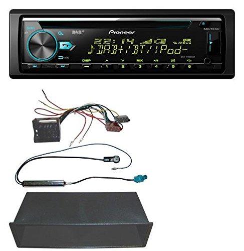 Pioneer DEH-X7800DAB CD MP3 DAB USB Bluetooth AUX Autoradio für VW Polo, Lupo, Fox, Passat, T5