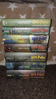 Harry Potter komplette Bücher von 1 - 7, Gebundene Ausgabe von Joanne K. Rowling