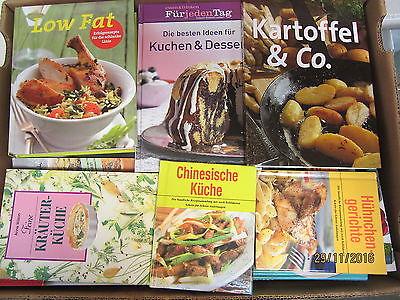 68 Bücher Kochbücher nationale und internationale Küche