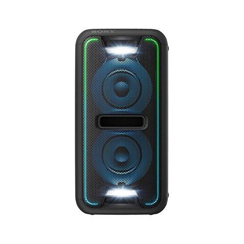 Sony GTK-XB7 leistungsstarkes One Box Party Soundsystem (470 Watt Ausgangsleistung, Extra Bass, Bluetooth, NFC, Licht- und DJ-Effekte) schwarz