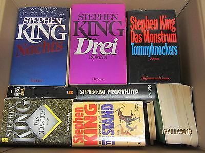 Stephen King 46 Bücher Romane Horrorromane Gruselromane Fantasyromane