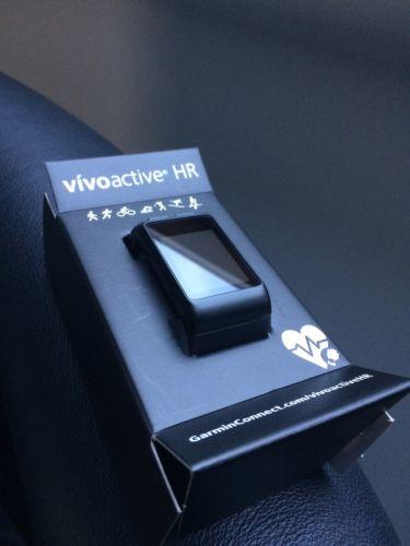 Garmin vivoactive HR schwarz