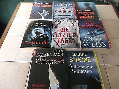 Bücher-Paket  Romane Thriller Krimi