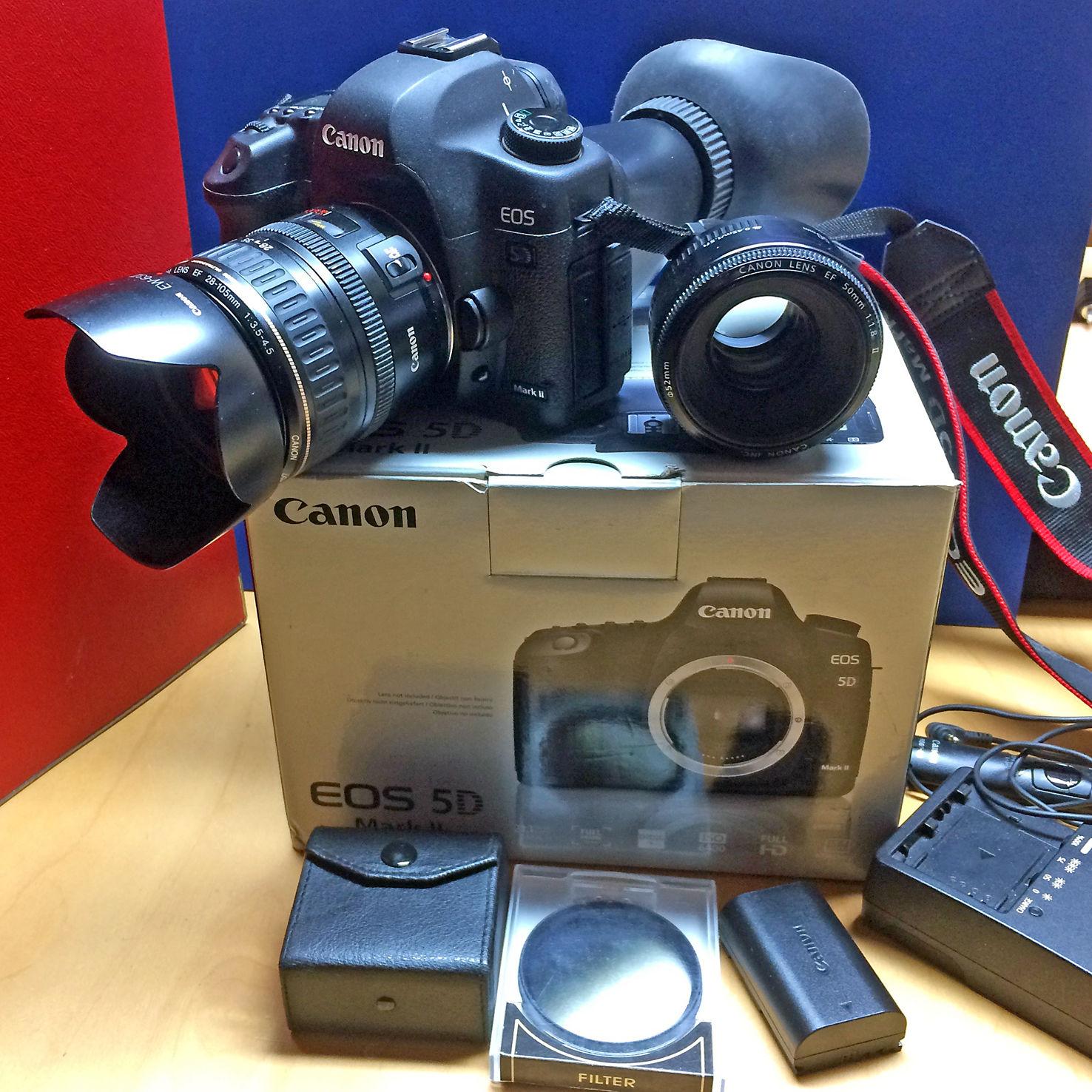 Canon EOS 5D Mark II Vollformat Digitalkamera