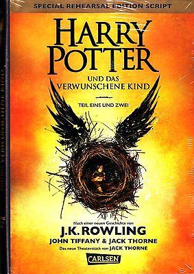 Joanne K. Rowling: HARRY POTTER UND DAS VERWUNSCHENE KIND (Teil 1+2) NEUWERTIG
