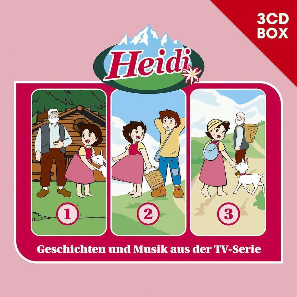 Heidi - Hörspielbox Vol. 1 - Hörbuch / Hörspiel - CD - *NEU*