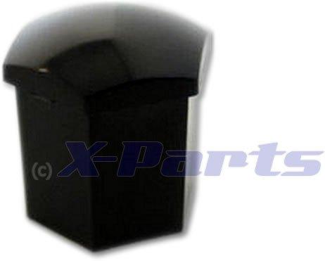 Wheel Nut Caps Black Spanner Size 19 Pack of 20