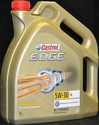 5 Liter Castrol EDGE TITANIUM FST 5W-30 LL VW AUDI  504 00 / 507 00 Longlife 3
