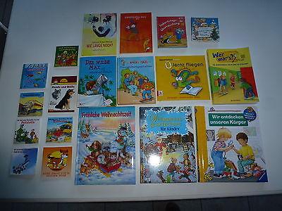 19 Stk Kinder Bücher Paket Wieso ? Weshalb ? Warum? PIXI Felix Weihnachten Nr C8