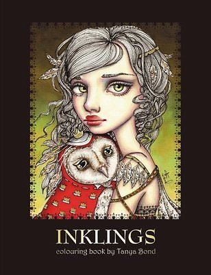 MALBUCH für ERWACHSENE ? INKLINGS ? Zen Art Therapy Adult Coloring Book