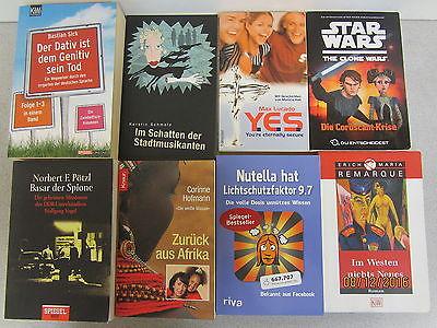 115 Bücher Taschenbücher verschiedene Verlage