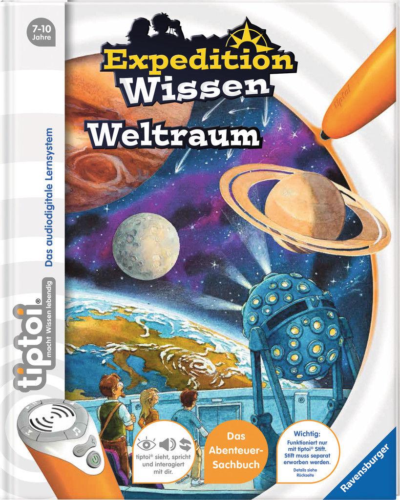Ravensburger tiptoi Buch Expedition Wissen Weltraum 00672