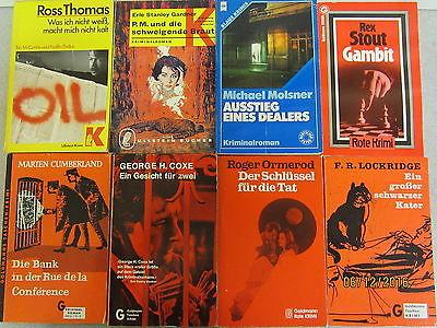 117 Bücher Taschenbücher Krimi Kriminalromane ältere Kriminalromane